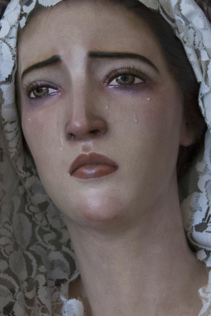 Busto de la Virgen Dolorosa